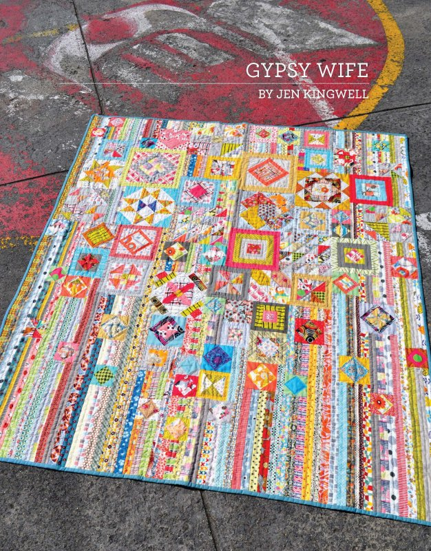 Gypsy Wife - The Quilting Room : unique quilt designs - Adamdwight.com